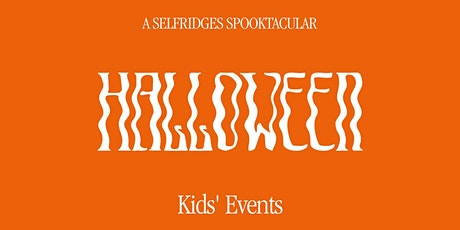 Design your own Trick or Treat bag at Selfridges London tickets