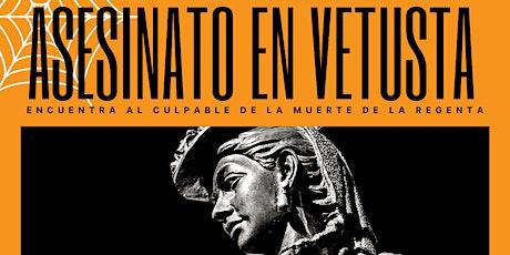Cluedo en Vivo Asesinato en Vetusta EDICIÓN ESPECIAL HALLOWEEN tickets
