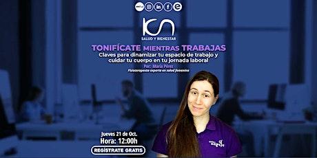 KCN Salud y Bienestar 21Oct boletos