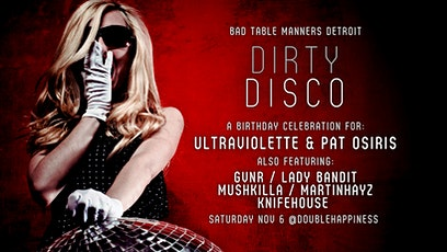 Dirty Disco tickets