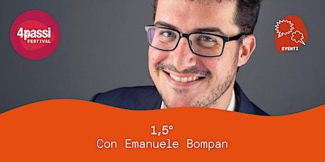 4passiFestival | 1,5°C – dialogo con Emanuele Bompan biglietti
