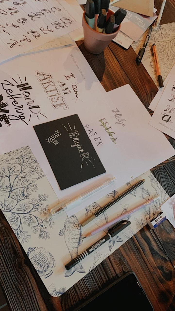 Brush Lettering Workshop: Bild