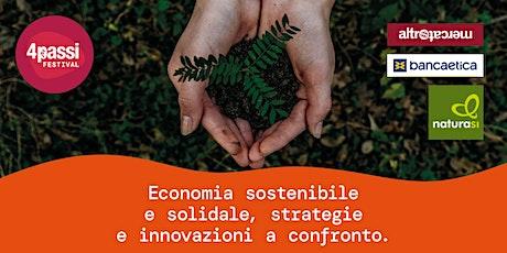 4passiFestival | Economia sostenibile e solidale, strategie e innovazioni biglietti
