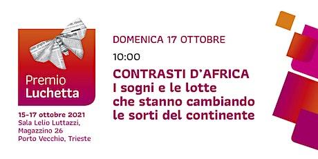 Contrasti d'Africa | Premio Luchetta biglietti