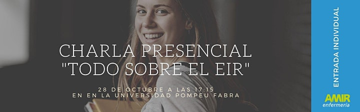 """Imagen de Charla Presencial """"Todo sobre el EIR"""" - Barcelona"""