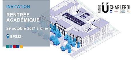 CampusUCharleroi - Rentrée académique 2021 tickets