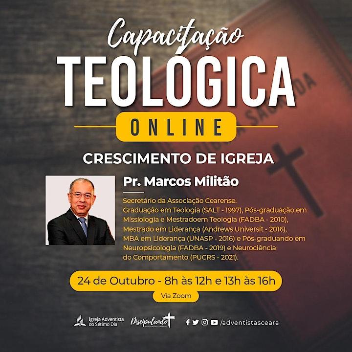Imagem do evento Capacitação Teológica