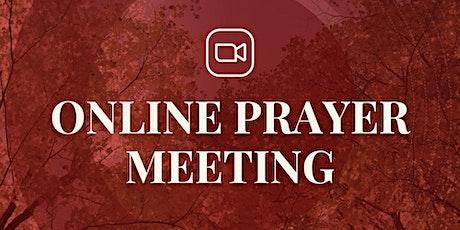 Online Prayer Meeting (19th October) tickets
