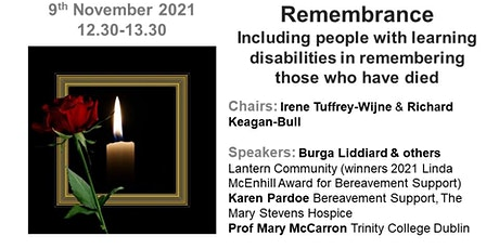 Remembrance: Including people with learning disabilities tickets
