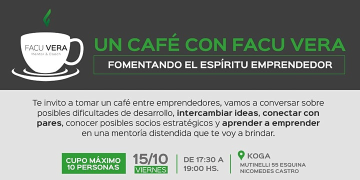 Imagen de Café para Emprendedores
