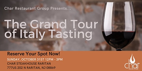 The Grand Tour of Italy Tasting tickets
