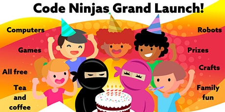 Code Ninjas Grand Launch - Tech fun for all the family! For free! tickets