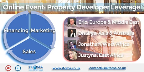PROPERTY - Financing - Marketing - Sales Solutions for PROPERTY DEVELOPERS tickets