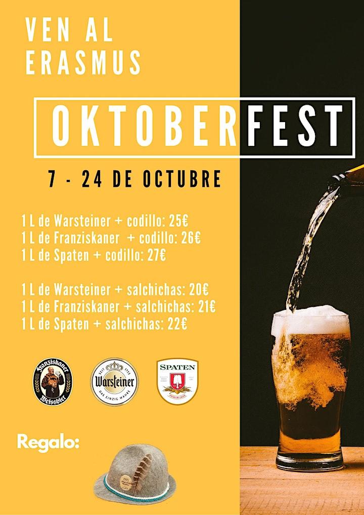 Imagen de Oktoberfest Erasmus Café Salamanca