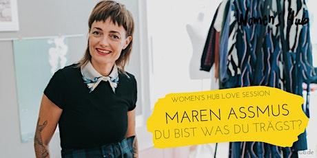MAREN ASSMUS in der WOMEN'S HUB LOVE SESSION - Mi, 17. November 2021 Tickets