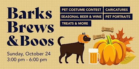 Barks, Brews & Boos tickets