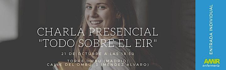 """Imagen de Charla Presencial """"Todo sobre el EIR"""" - Madrid"""