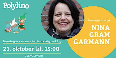 Forelesning med Nina Gram Garmann professor ved OsloMet og Polylino tickets