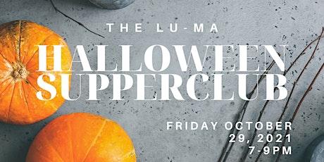 Halloween Supper Club tickets