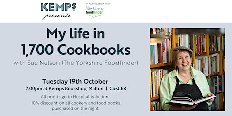 My Life in 1700 Cook Books with Sue Nelson aka The Yorkshire Food Finder tickets