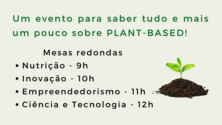 Imagem do evento PLANT-BASED TALKS
