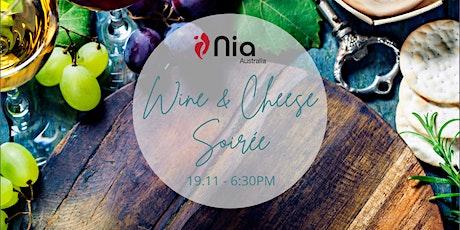 Nia Australia's Wine & Cheese Soirée tickets