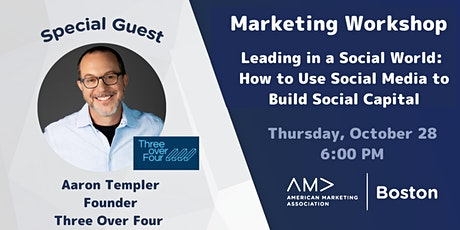 Leading in a Social World: How to Use Social Media to Build Social Capital tickets