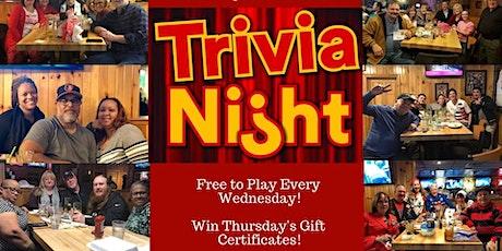 Trivia Night at Thursday's Bar & Grill tickets