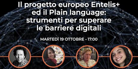 Entelis+ ed il Plain language: strumenti per superare le barriere digitali biglietti