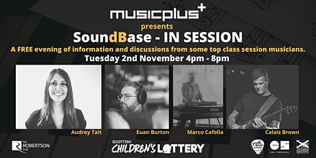 Music Plus presents SoundBase // An online evening with Session Musicians tickets