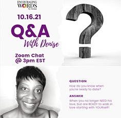 Q & A With Denise tickets