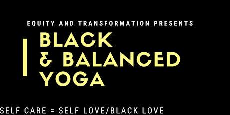Black & Balanced Yoga tickets
