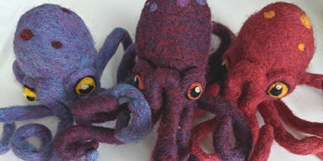 Octopus: Needle Felting Workshop for Improvers - Whole Day tickets