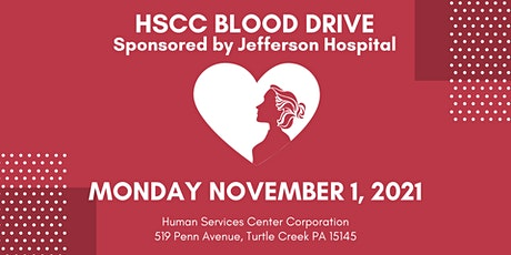 Blood Drive with HSCC and Jefferson Hospital tickets