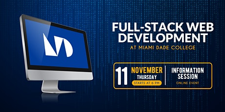 Learn to Code at Miami Dade College - Info Session tickets