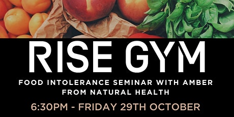 Copy of Food Intolerance Seminar with Amber Hill tickets