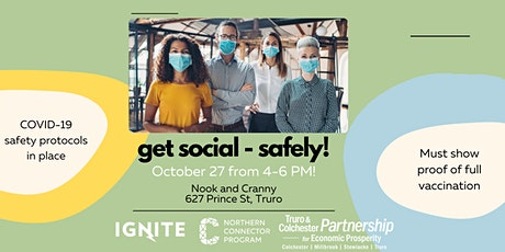 Get Social - Safely Networking! tickets