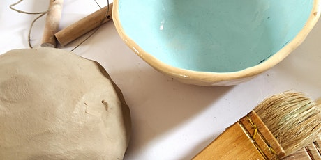 Pottery workshop - Make a ceramic pinch pot/bowl. tickets