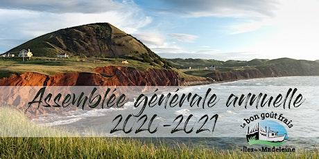 Assemblée générale annuelle du Bon goût frais des Iles de la Madeleine billets