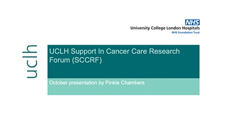 UCLH Support In Cancer Care Research Forum (SCCRF) - October Presentation tickets