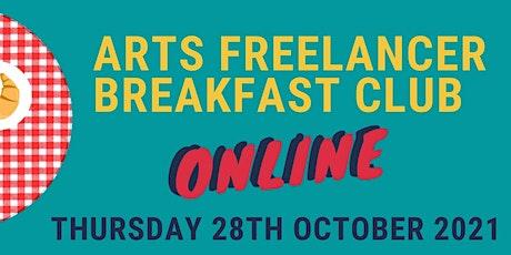 Arts Freelancer Breakfast Club October 2021 tickets