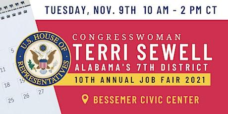 Congresswoman Terri Sewell Hosts 2021 Congressional Job Fair tickets
