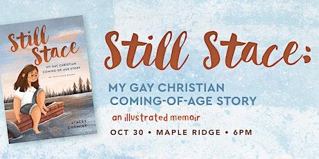 """Book Launch: """"Still Stace"""" at Open Door Church tickets"""