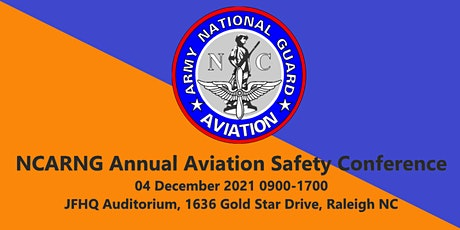 North Carolina Army National Guard Annual Aviation Safety Conference tickets