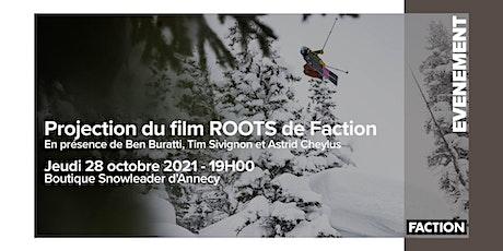 PROJECTION DU FILM ROOTS DE FACTION - ANNECY billets