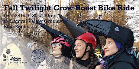 Fall Twilight Crow Roost Bike Ride tickets