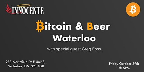 Bitcoin & Beer Waterloo tickets