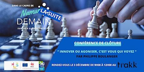 Namur Demain - La conférence billets