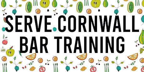 Serve Cornwall - Bar Training Fundamentals tickets