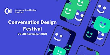 Conversation Design Festival 2nd Edition 2021 tickets